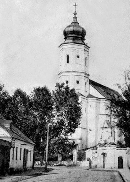 Свято-Троицкий храм, обращенный в римо-католический костел
