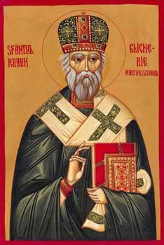 Икона митрополита Гликерия (Тэнасе)