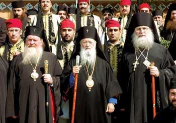 Первоиерархи раскольнического союза старостильных Церквей
