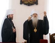 Состоялся официальный визит Высокопреосвященнейшего Митрополита Волоколамского Илариона, председателя ОВЦС МП, в Минские духовные школы.