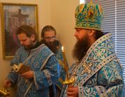 Служение ректора: Введение во храм Пресвятой Богородицы