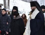 Служение ректора: Суббота по Рождестве Христовом, отпевание инокини Георгии