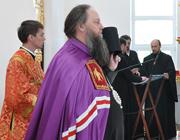 Служение ректора: Освящение кафедрального собора г. Турова