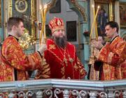 Служение ректора: Архиепископ Гурий молитвенно отметил день рождения